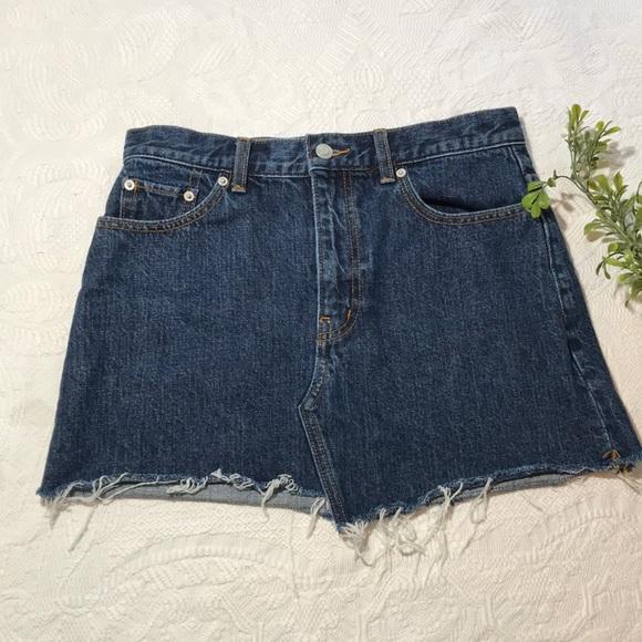 952b4c72e TNA Skirts | Aritzia Testani Jean Skirt Size 6 | Poshmark
